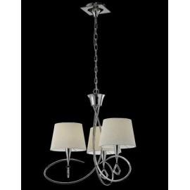 Lámpara Colgante Corazones Verde 1luz  Regx30d