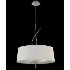 Lámpara Colgante Serie Jaula Verde 1luz  Regx35d