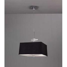 Lámpara Sobremesa Serie Alabama Beis/cuero 1luz  39x25d