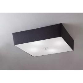 Lámpara Colgante Peq Serie Alabama Blanco/cromo 1luz  45x35d