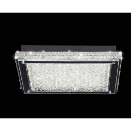 Plafon Led SERIE CRYSTAL LED ACABADO Chrome