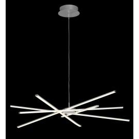 Lámpara Sobremesa Serie Misuri Blanco/cromo 1luz  43x25x16