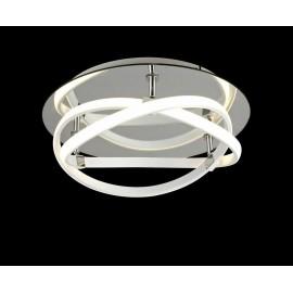 Lámpara Colgante Serie Trapecio Lila 1luz  Regx30D