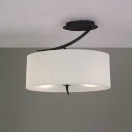 Lámpara Colgante Botón Turquesa 1luz  Regx35d