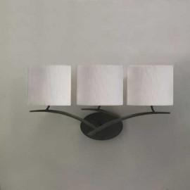 Lámpara Rústica 8lxe27 60w Negro (60x80)