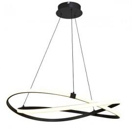 Lámpara Sobremesa Planetario Cilind. Marrón  (29x13)