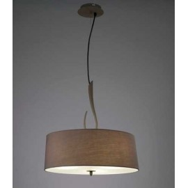 Lámpara Plafón Granadino Opalina 1luz  24x26