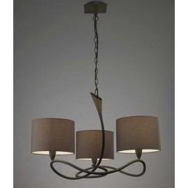 Lámpara Plafón Grande Granadino 2 luces 30x30