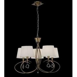 Lámpara Farol Forja Monasterio 1luz  47x21 Negro