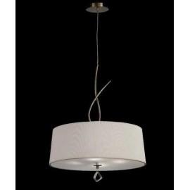 Lámpara Farol Granadino 4 Caras Pequeño 1luz 30x15