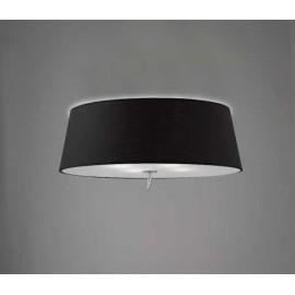 Lámpara Aplique Grande 1luz Ambar/cuero 45x30
