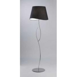 Lámpara Colgante Estrella Ambar/cuero 1luz  34x34