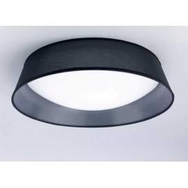 Lámpara Colgante Grande 1luz  Ambar/cuero 45x30
