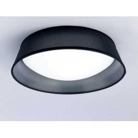 Plafon 3 luces SERIE NORDICA ACABADO Black Shade