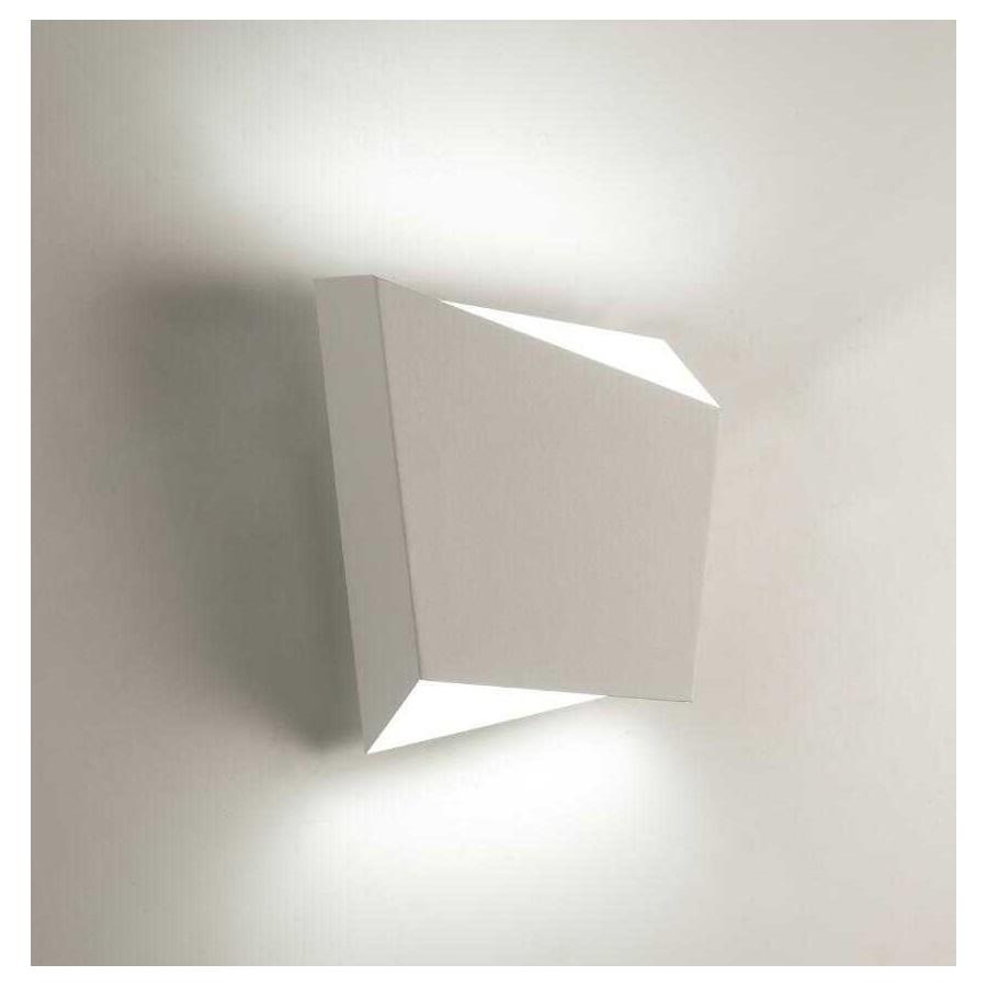 Aplique 1 luz SERIE ASIMETRIC ACABADO Blanco de mantra