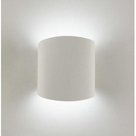 Aplique 1 luz SERIE ASIMETRIC ACABADO Blanco