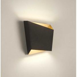 Aplique 1 luz SERIE ASIMETRIC ACABADO Black