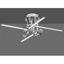 Lámpara Foco de 1luz 50w (12x6) Cuero