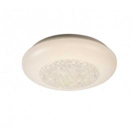 Oferta Lámpara Downlight Sup. Redondo Níquel 2 luces 27d