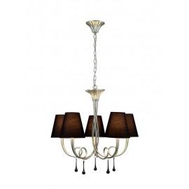 Lámpara Regleta Foco de 3 luces 50w En Rústico (7x71)