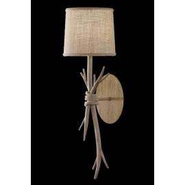Lámpara Forja Oro Viejo 8 luces  56x83