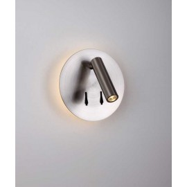 Aplique LED SERIE CAYMAN ACABADO Satin Nickel