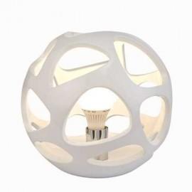 Lámpara Foco Kripton 1luz Cuero 18x12