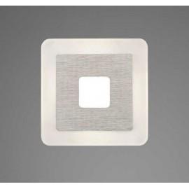 Lámpara Plafón Kripton 4 luces Cromo 20x54