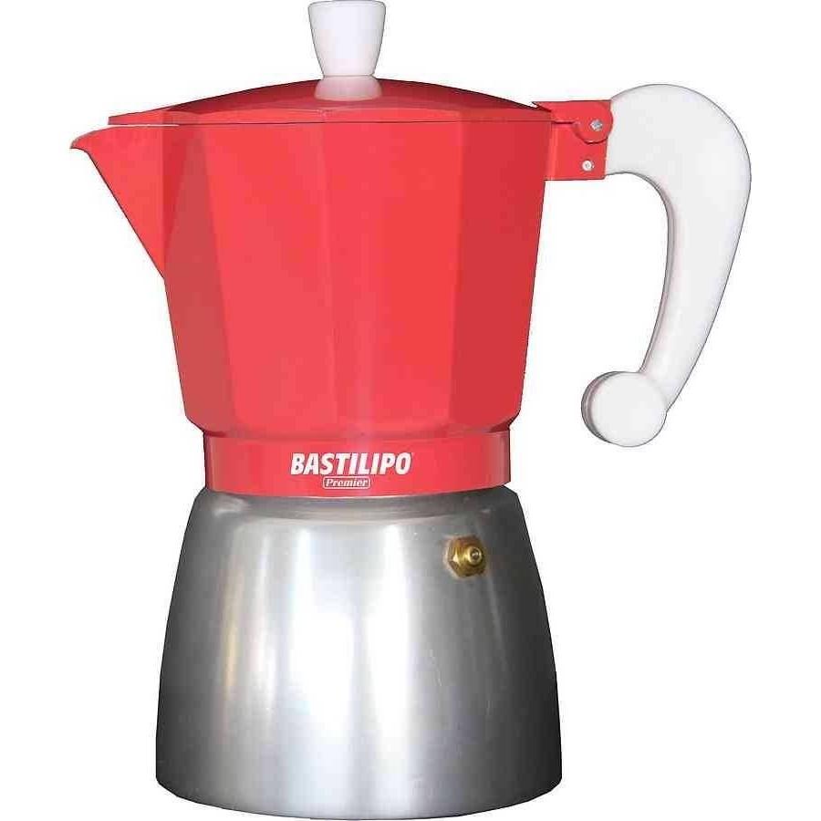 Cafetera de color modelo COLORI CORAL 9 tazas de Bastilipo
