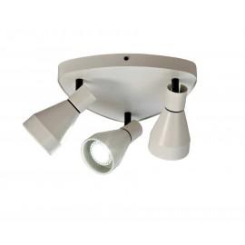 Lámpara Sobremesa Espiral Marrón 1luz 35x20