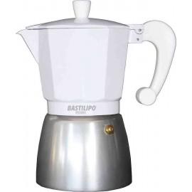 Cafetera COLORI BLANCA 3 tazas Bastilipo