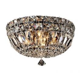 Lámpara Plafón Moscovo Blanco/cristal Led 15w 1000lm 4000k 17x30x30