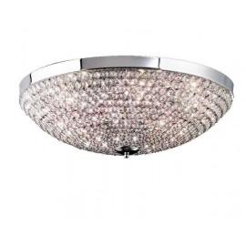 Lámpara Plafón Insbrusque Cromo/cristal Led 21w 1760lm 4000k 21x36x36