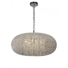 Lámpara Plafón Tallinn Cromo/cristal Led 17w 1430lm 4000k 16x40d