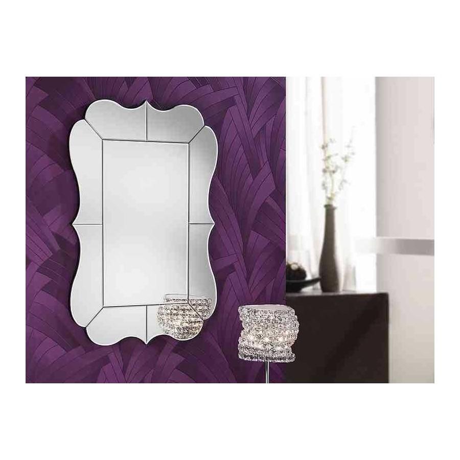 Espejo celia sin marco 60x90 cm for Precio espejo a medida sin marco
