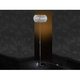 Lámpara Sobremesa Marsella 1luz Cuero 37x18d