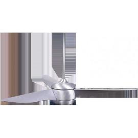 Ventilador de techo 142cm, modelo Impala acero con Led integrado y motor DC de 6 velocidades.