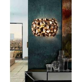 Lámpara tipo Aplique Cleveland Blanco/cromo 1luz  23x15