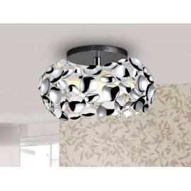 Lámpara de Sobremesa Cleveland Beis/cuero Mate 1luz  46x25d