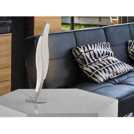 Iluminacion clasica para salon modelo MARTE cromo 5 luces
