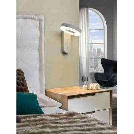 Lámpara plafón Cristal Led Melania 15w 1350lm 30x30