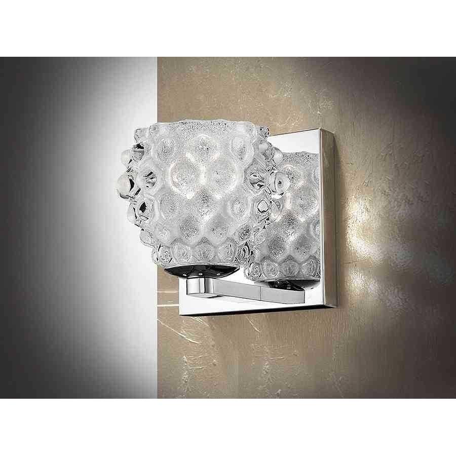 Aplique modelo HESTIA, cristal arenado