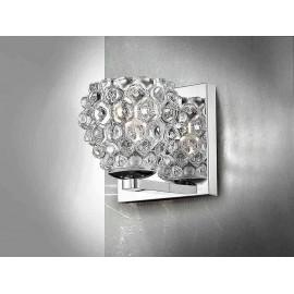 Iluminacion de pared, HESTIA cristal transparente