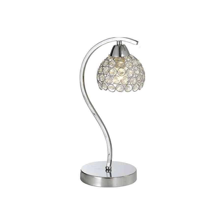 Comprar lampara sobremesa cromo cristal modelo PEOPLE