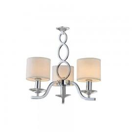 2830-3-CR LAMP. 3L SERIE ROCIO 3XE14 CROMO