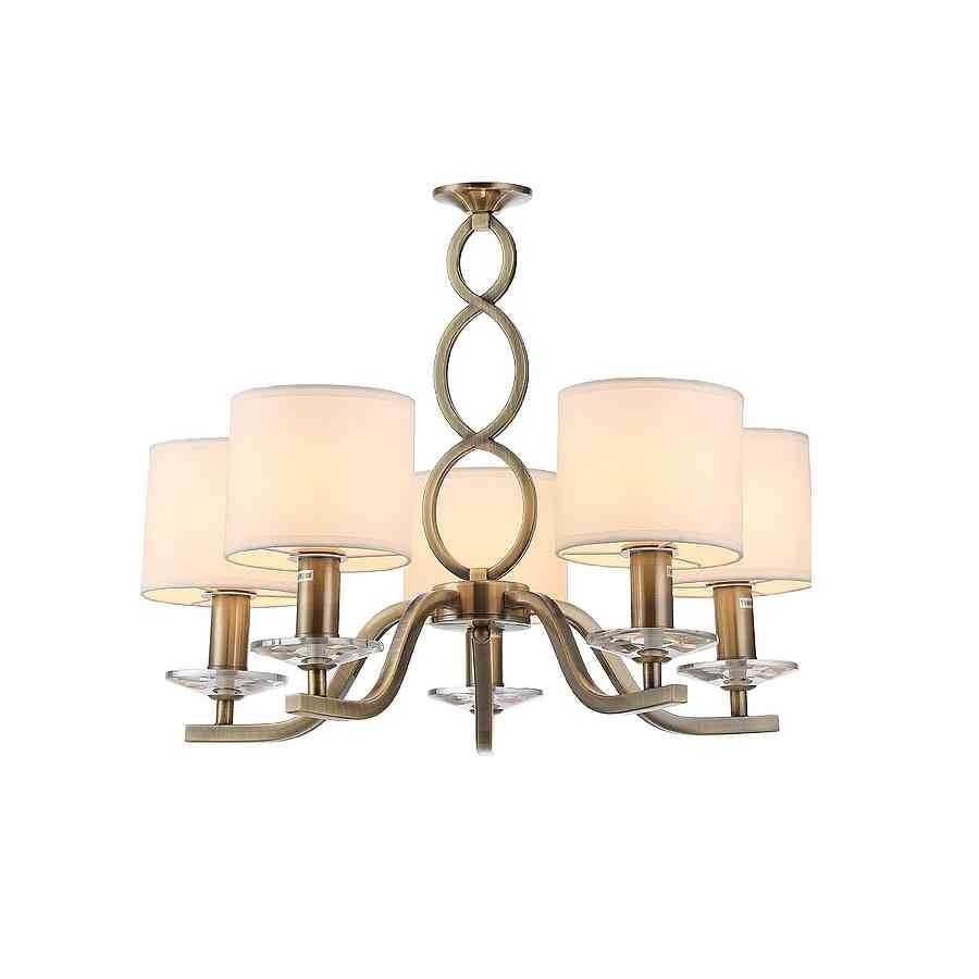 2830-5-CU LAMP. 5L SERIE ROCIO 5XE14 CUERO