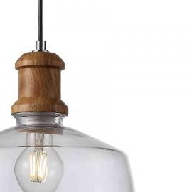 Lámpara tipo Plafón Foco Gobi Níquel 3Luces Led 15w 3000k