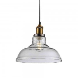 Lámpara Colgante Minnesota 1Luz Negro