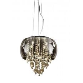 Lámpara tipo Aplique Exterior Amapola 1Luz Negro/plata 40x22