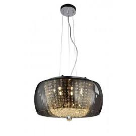 Lámpara de Sobremuro Exterior Amapola 1Luz Negro/plata 50x22